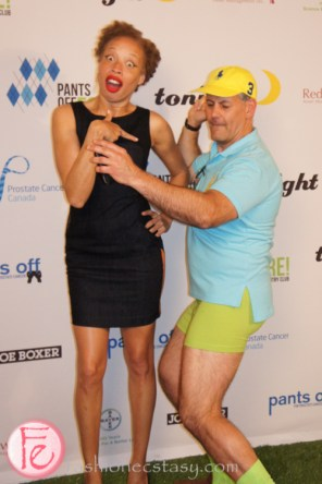 Pants Off 2013 for Prostate Cancer- Stacey Mckenzie