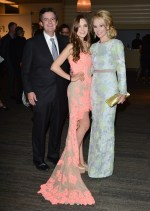 Suzanne Rogers and her daughter at TFI new labels gala 2013