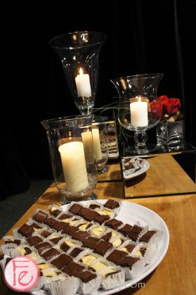 brownies and cheesecake from Dufflet- The Ultimate Food Challenge (UFC) 2013