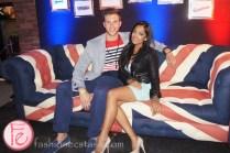 Danny H. and Melinda Shankar - Rockstar Hotel 2013 - British Invasion