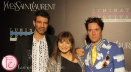 Jorn Weisbrodt, Jeanne Beker and Rufus Wainwright