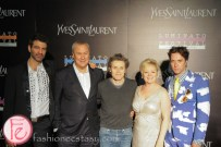 Jorn Weisbrodt, Willem Dafoe, Janice Price, CEO, and Rufus Wainwright at Luminato and Yves Saint Laurent Opening Night Party