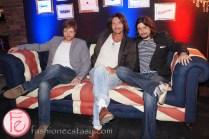 Mark Holmes, Justin Holmes, director Michael Penney - Rockstar Hotel 2013 - British Invasion