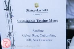 Shangri-La- sardine mousse with sea crackers