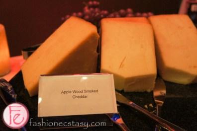 apple wood smoked cheddar Cosmopolitan Hotel Eight Wine Bar Versay wine on tap Launch