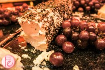 quebec goat cheese with roasted peppercorn & fresh herbs Cosmopolitan Hotel Eight Wine Bar Versay wine on tap Launch