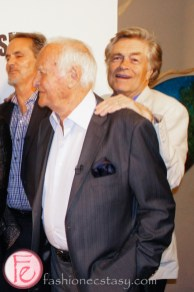 Robert Loggia and Art Hindle at Real Gangsters Canadian Premiere