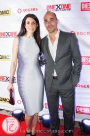 David Rocco and wife Nina
