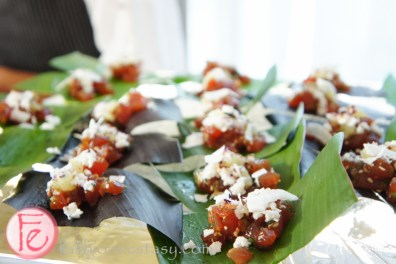 DINE Magazine Launch Party 2013 - Hawaiian tuna poke
