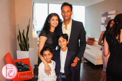 Rohan Chand & family