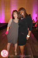 Christine Bentley and Alicia Vianga at Pink Diamond Gala for After Breast Cancer 2013