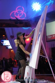 Stems of Hope Gala 2013 - Jessica Gorlicky JessGo Live Art