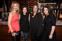 Jennifer Elmaleh, Kailee Mecklinger, Jennifer Konopny and Jennifer Brodlieb, Moms for Sinai Co-chairs