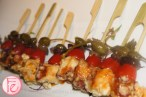 Michael's on Simcoe Launch Party - octopus skewers