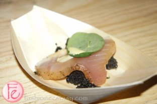 "albacore tuna ""cotto crudo"" by Giacomo, Vertical"