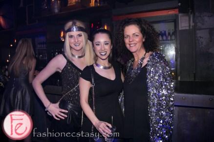 FFWD Ad Ball 2014 Ashleigh Mair, Alexandra Kwan, Laurie Hall