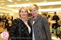 Diane Peller, Kim Luis (wine sponsors)