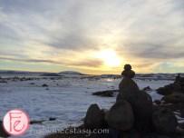 冰島車遊中見日落 (Iceland sunset)