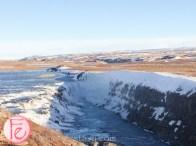 冰島古佛斯瀑布(黃金瀑布) (Gullfoss waterfall)