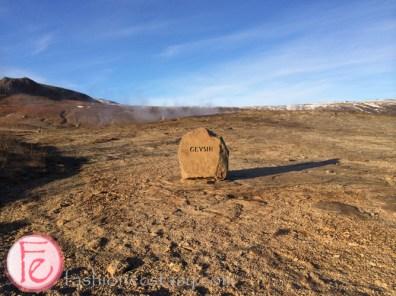 冰島蓋錫爾間歇泉 Geysir Iceland