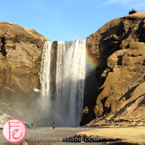 冰島斯科加爾瀑布 (Iceland Skógafoss waterfall- Iceland Travel)