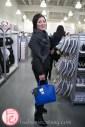 Susan Langdon carrying a Jeanne Beker handbag