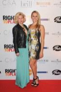 Right to Play Ball 2014 Shauna Ireland, Jana Webb