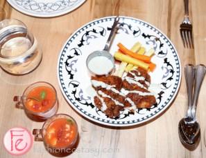 Buffalo fried sweetbreads