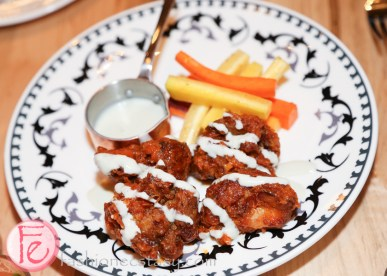 Buffalo fried sweetbreads