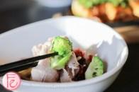 buta shabu salad