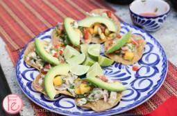 ceviche tortillas