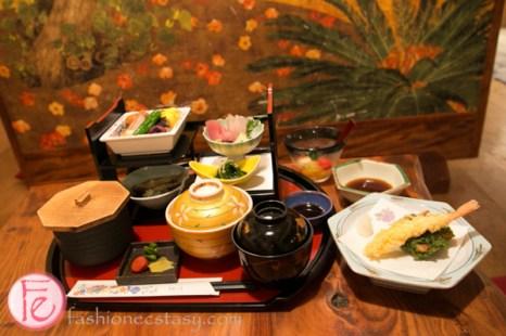 Okinawan lunch set