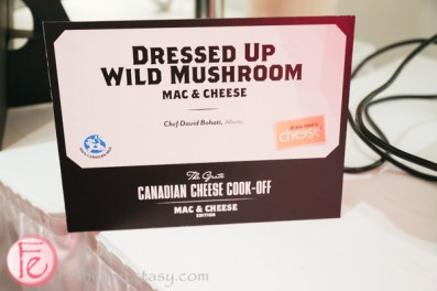 Dressed Up Wild Mushroom mac n cheese