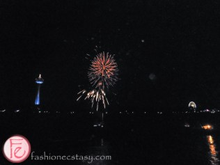 Taste Niagara USA Fireworks at Cave of the Winds