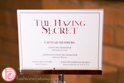 The Hazing Secret costume