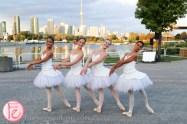 Ballerina Diner En Blanc Toronto 2014