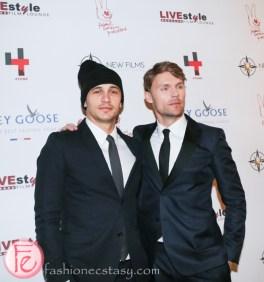 James Franco and Scott Haze