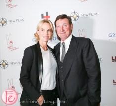 Janet Jones Gretzky and Wayne Gretzky