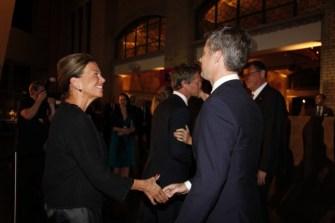 Jan Tholstrup, CEO, WHIITE & HRH Crown Prince Couple