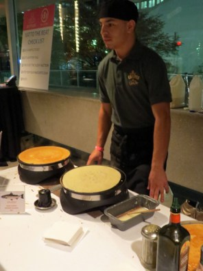 Crepes a Go Go at eat to the beat 2014
