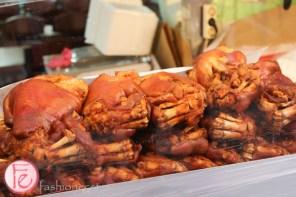 Namdaemun market pork knuckles