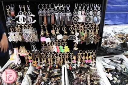 knock-off key chains at Namdaemun Market Seoul