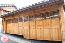 Korean traditional architecture at Bukchon Hanok Village