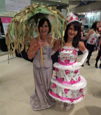 Joanna Chrystal & Florianne Yeung at eat to the beat 2014