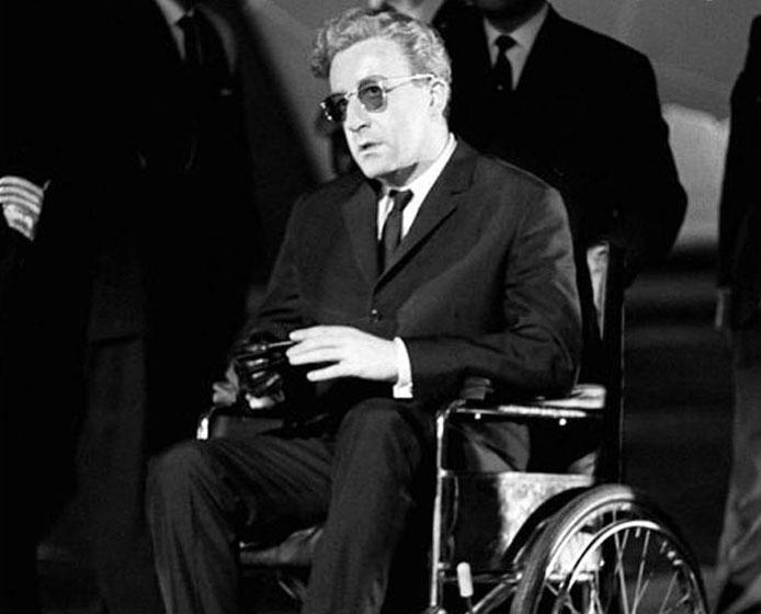 dr strangelove in wheelchair