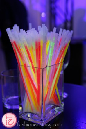 glowsticks at BOOMBOX Stanley Kubrick at TIFF kick off fundraiser