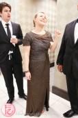 Michelle Siemens dress fitting at hudson's bay