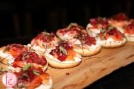drake hotel brunch smoked salmon bagel
