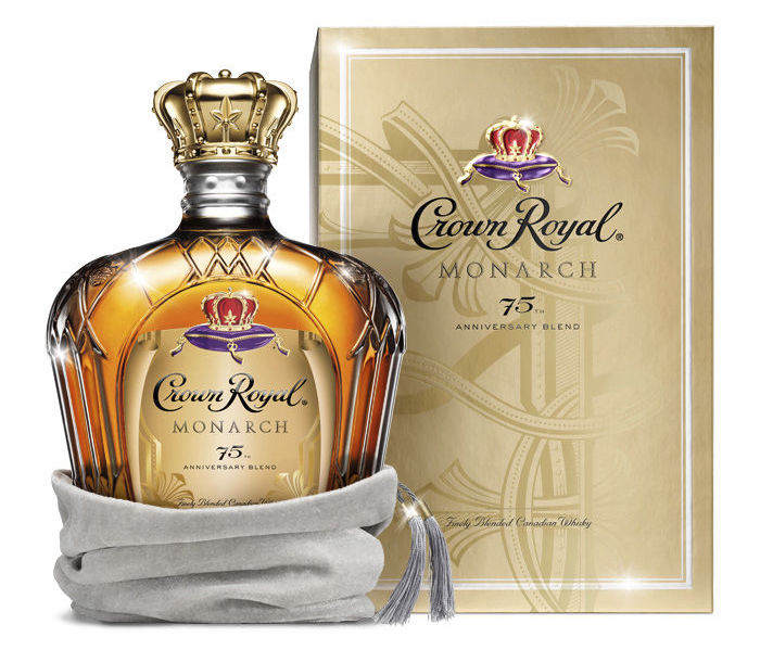 Crown Royal 7th anniversary limited edition whiskey