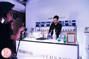 Disaronno Wears Versace bartender